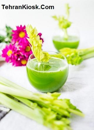خواص و فواید آب کرفس برای زیبایی و سلامت پوست + مضرات آن