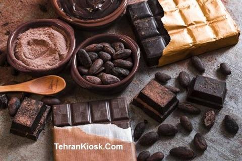 خواص و فواید شکلات تلخ به عنوان یک لایه بردار قوی + عکس آن