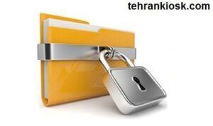 آموزش قفل کردن فولدر های ویندوز به بیان ساده