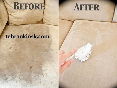 نحوه پاک کردن مبلمان به روش صحیح و اصولی