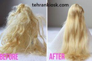 نحوه شستن موهای عروسک بدون آسیب رسیدن به آنها