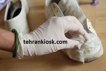 انواع روش تمیز کردن کفش با استفاده از مواد متنوع