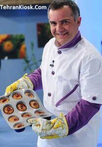 بیوگرافی و زندگینامه ی سامان گلریز اولین مرد در آموزش آشپزی در تلویزیون ایران