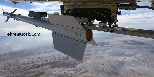 شلیک موشک آذرخش از پهپاد کرار نیروی پدافند هوایی ارتش و انهدام اهداف متخاصم