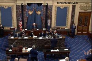 جلسه کنگره آمریکا برای شمارش آرای الکترال و تایید نتایج انتخابات ریاست جمهوری این کشور