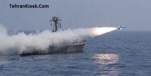شلیک انواع موشکهای کروز دریایی در رزمایش اقتدار دریایی ۹۹ + عکس