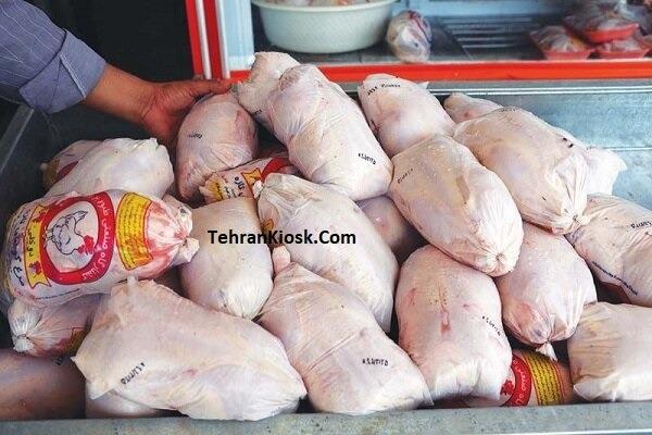 ثبات قیمت مرغ در بازار + قیمت هر کیلوگرم مرغ بین ۱۹ تا ۲۰ هزار تومان