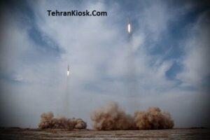 شلیک موشک های بالستیک سپاه به عمق اقیانوس هند در رزمایش پیامبر اعظم(ص)