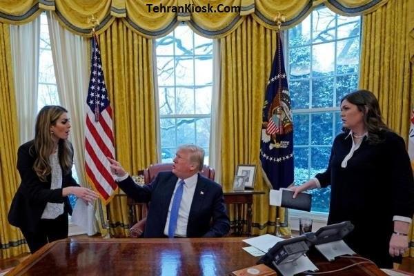 ترک کردن هوپ هیکس مشاور ارشد دونالد ترامپ از کاخ سفید + عکس