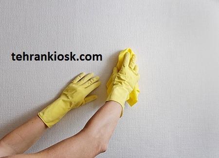 روش تمیز کردن دیوار و کاغذ دیواری به شکل صحیح آن