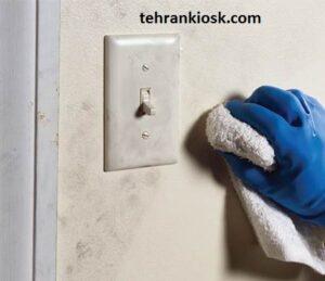 پاک کردن لکه ها از روی دیوار گچی با روش آسان و موثر