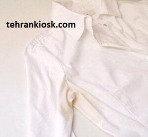 نحوه ازبین بردن لکه عرق از روی لباس با استفاده از مواد بی ضرر