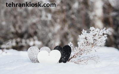 عاشقانه ای برای روزهای برفی و زمستان به همراه متن احساسی