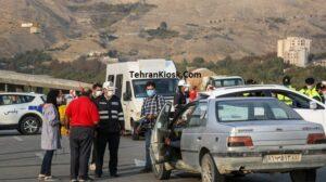 ترافیک سنگین و نیمه سنگین در برخی محورهای مازندران و هجوم مسافران