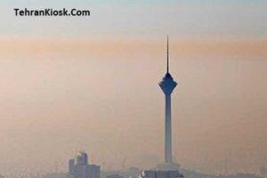 برای چهارمین روز متوالی؛ هوای تهران برای گروههای حساس جامعه آلوده است