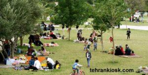 ممنوعیت تجمع در روز طبیعت برای استان تهران و شهرستان ری تایید شد
