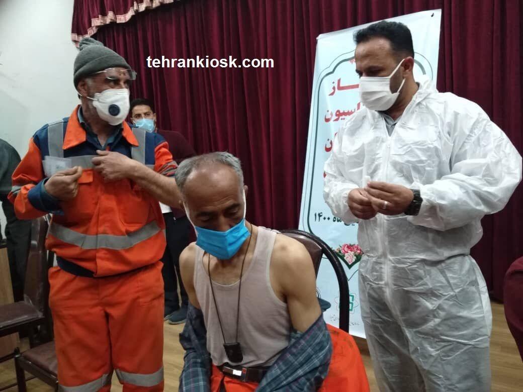 آغاز واکسیناسیون پاکبانان در شیراز و ایمن سازی علیه کرونا آغاز شد