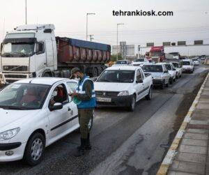 آغاز اعمال قانون خودروهای غیر بومی در تهران و کرج توسط پلیس راهور