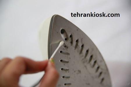 روش های مختلف تمیز کردن اتو و از بین بردن رسوبات سطح آن