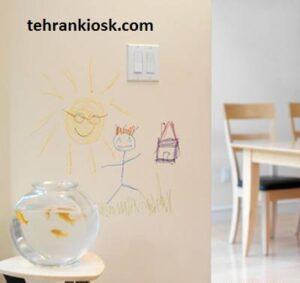 ترفند پاک کردن لکه ماژیک از روی دیوار و سطوح دیگر