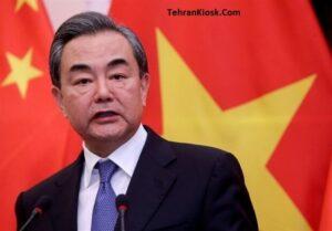 گفتگوی وزیر امور خارجه چین با علی لاریجانی مسئول پیگیری قرارداد ۲۵ ساله ایران – چین