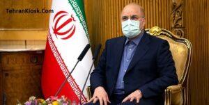 رئیس مجلس شورای اسلامی: بودجه سال ۱۴۰۰ را به دولت ابلاغ کرد