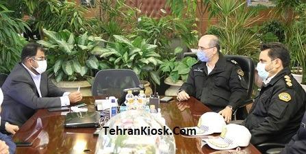 فرمانده پلیس راهور تهران و مدیرعامل سازمان بهشت زهرا(س): مردم به بهشت زهرا(س) نیایند