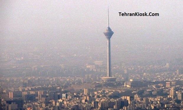 قرار گرفتن تهران برای دومین روز متوالی در شرایط ناسالم برای گروههای حساس جامعه
