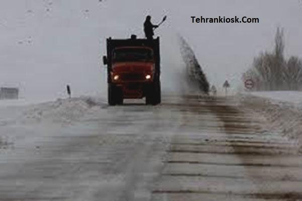رئیس مرکز مدیریت راه های مازندران: محورهای کندوان و هراز برفی و بارانی است