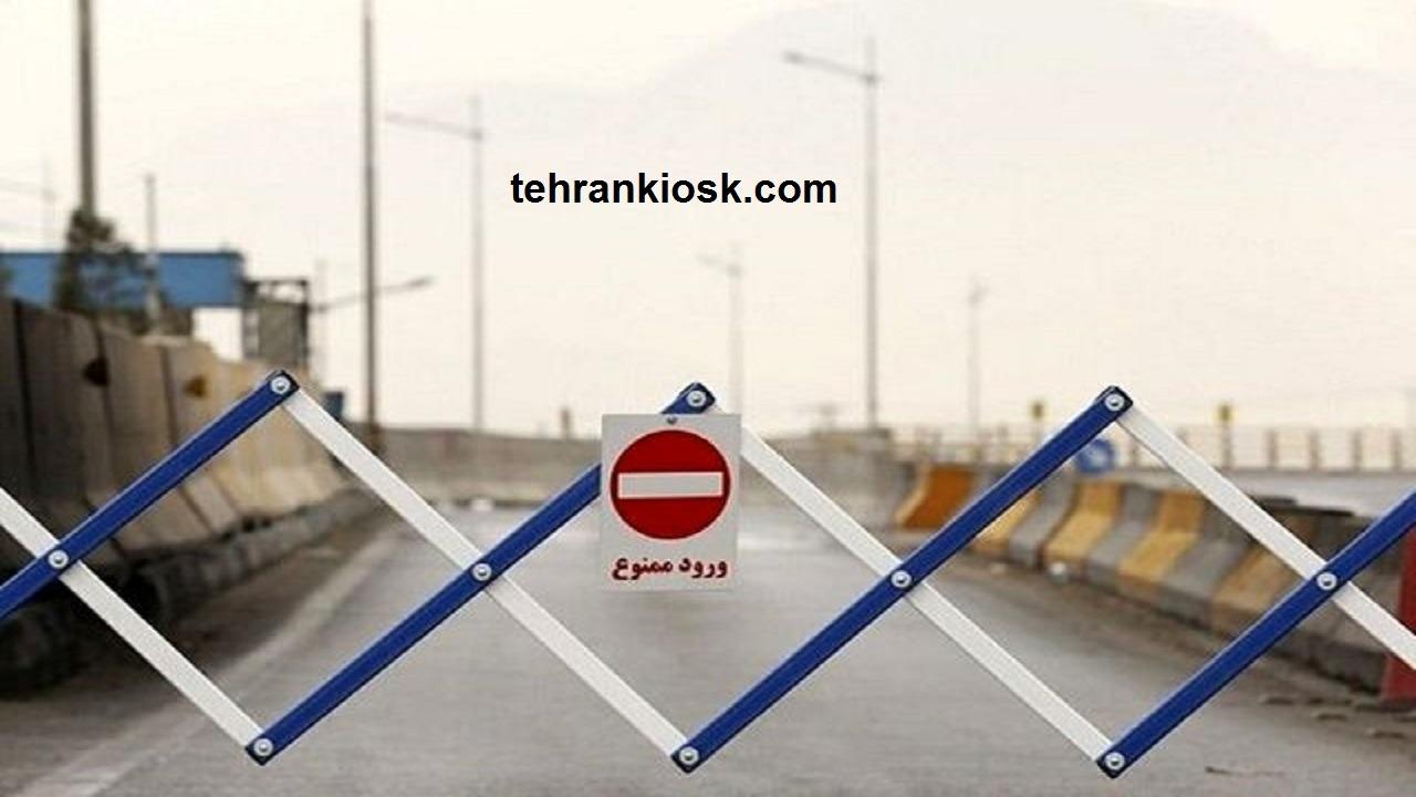 تردد در محور کرج - چالوس توسط رئیس پلیس راه البرز ممنوع شد