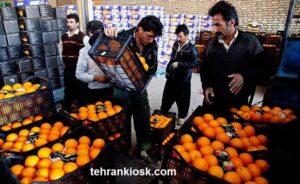 نابودی حدود ۳۰ هزار تن پرتقال و قرار گرفتن در آستانه فاسد شدن