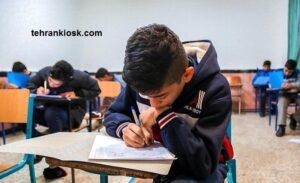 برگزاری آزمون حضوری برای پایه دوازدهم به سبب تاثیر گذاری بر کنکور