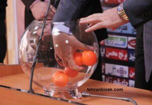 جزئیات قرعه کشی مرحله یک هشتم نهایی جام حذفی در سازمان لیگ فوتبال