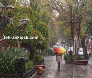 بارش باران در بیشتر مناطق کشور در روز طبیعت توسط هواشناسی اعلام شد