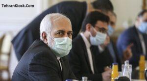 دیدار محمد جواد ظریف وزیر امور خارجه کشورمان با وزیر امور خارجه قطر