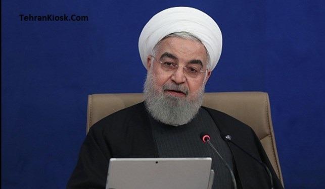 حسن روحانی گفت:موقع مشکل هر کسی می خواهد تقصیر را گردن دیگری بیاندازد