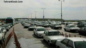 سرهنگ رنجبر؛ ترافیک پایتخت به روزهای قبل از تعطیلات بازگشت
