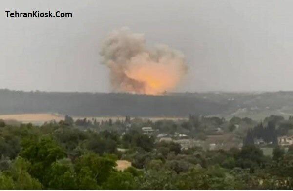 وقوع انفجاری مهیب در یکی از کارخانههای مهم نظامی رژیم صهیونیستی