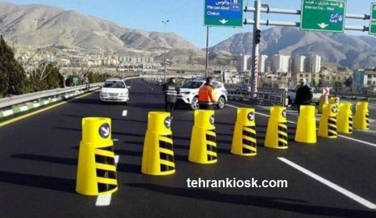 ممنوعیت اکید برای ورود به مازندران و بسته شدن ورودی ها بر روی خودروهای غیر بومی